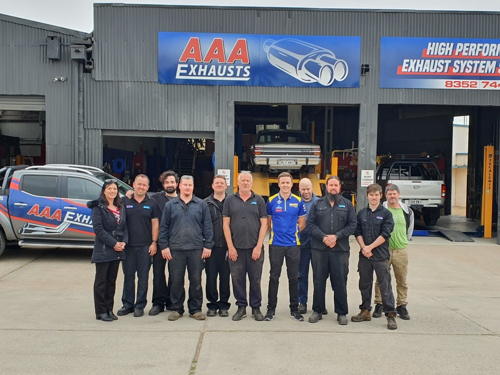 The AAA exhausts team